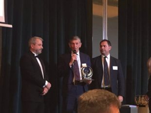 Antonio Persici premiato ai Credit Management & Collection Awards di StopSecret Magazine