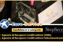 Credit Management & Collection Awards 2020: due nomination per Euro Service S.p.A.